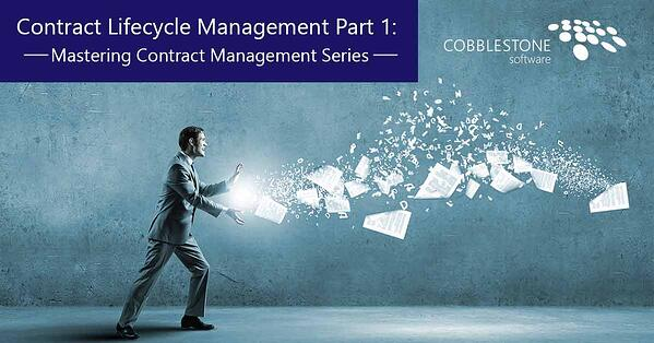 CobbleStone Software can help maximize and streamline contract lifecycle management.
