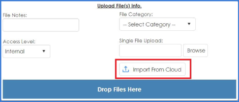 CobbleStone Software allows you to import new versions from the clouds.