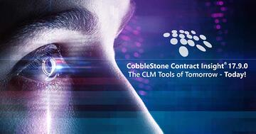 CobbleStone Software showcases future-minded CLM tools from CobbleStone Contract Insight® 17.9.0.