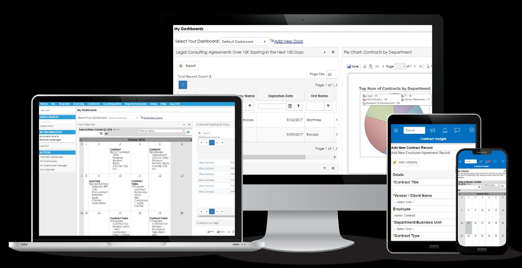 CobbleStone Software Contract Insight™ Enterprise