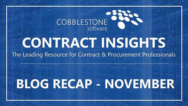 CobbleStone-Software-November-2019-Blog-Recap