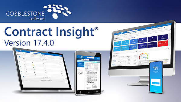 New Release Alert - Contract Insight 17.4.0