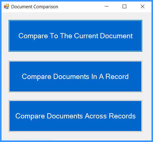 CobbleStone Software offers options for document comparison.