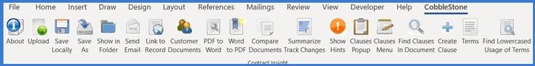 CobbleStone Software offers an MS Word PC Helper Application.