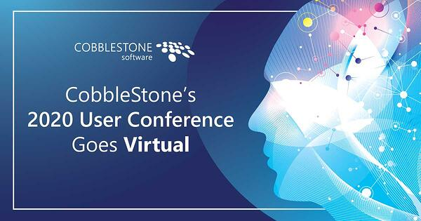 CobbleStone Software's 2020 user conference is going virtual.