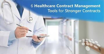 CobbleStone Software offers 6 healthcare contract management tools for stronger contracts.
