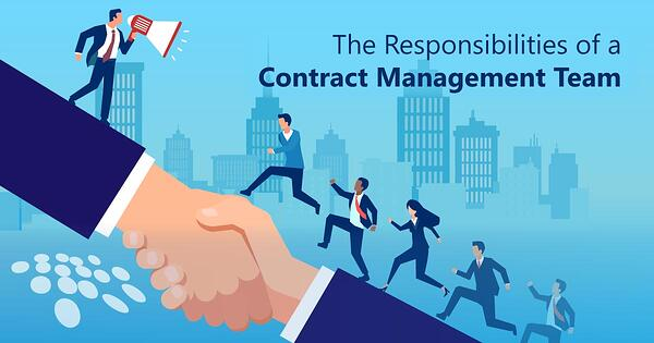 CobbleStone Software outlines the responsibilities of a contract management team.