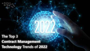 CobbleStone Software lists the top 3 contract management technology trends of 2022.