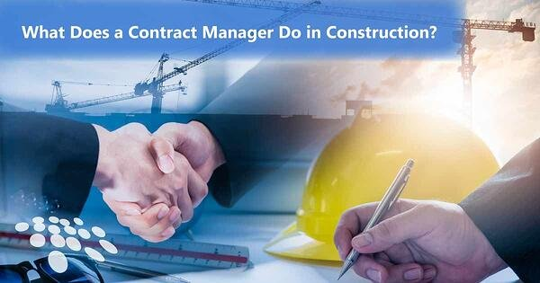 CobbleStone Software explains what a contract manager does in construction.