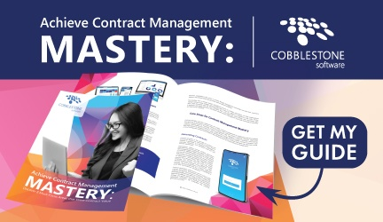 Download Mastering Contract Management Whitepaper by CobbleStone