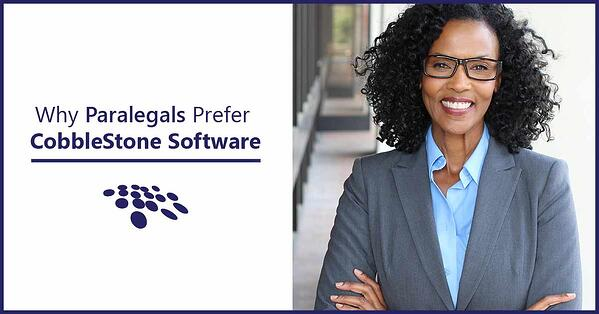 CobbleStone Software is preferred by paralegals for contract management software processes.