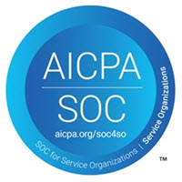 Click here to learn more about AICPA SOC compliance.